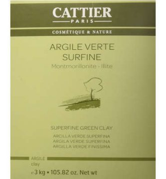 Arcilla verde en polvo extrafina Cattier