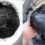Imágenes de arcilla negra natural casera