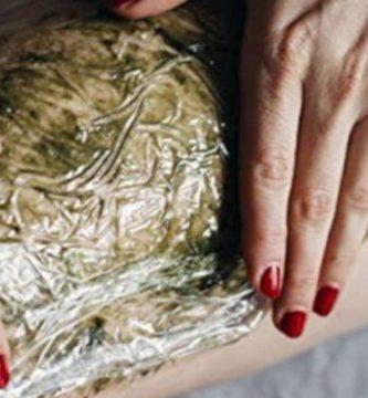 Cataplasma de arcilla verde
